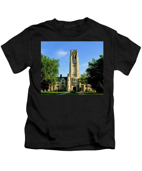 Bell Tower At The University Of Toledo Kids T-Shirt