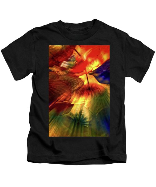 Bellagio Ceiling Sculpture Abstract Kids T-Shirt
