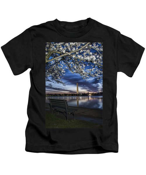 Bench With A View Kids T-Shirt