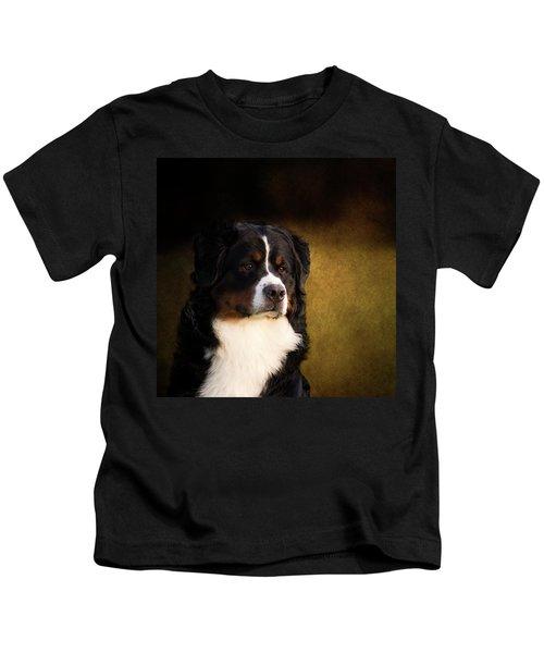 Bernese Mountain Dog Kids T-Shirt