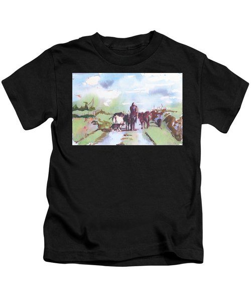 Bernie On The Road Kids T-Shirt