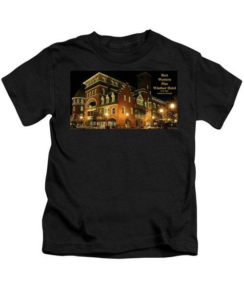 Best Western Plus Windsor Hotel - Christmas -2 Kids T-Shirt