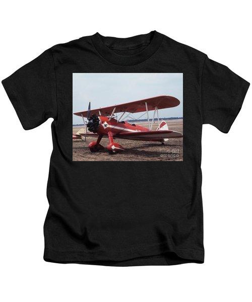Bi-wing-1 Kids T-Shirt