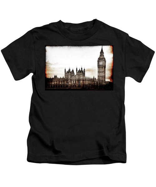 Big Bend And The Palace Of Westminster Kids T-Shirt