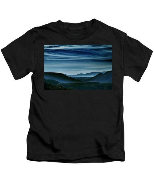 Big Bend At Dusk Kids T-Shirt