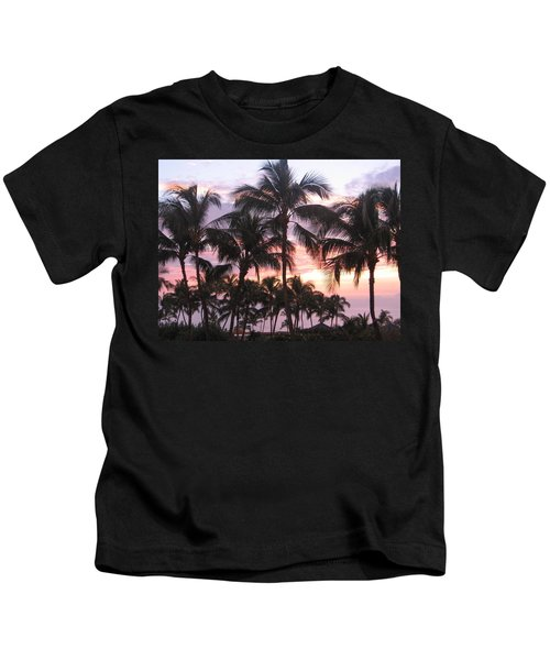 Big Island Sunset 3 Kids T-Shirt