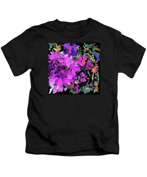 Big Pink Flower Kids T-Shirt