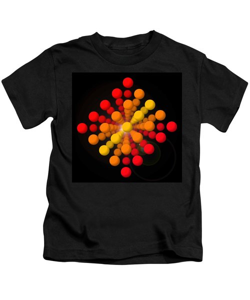 Big Red Figure Kids T-Shirt