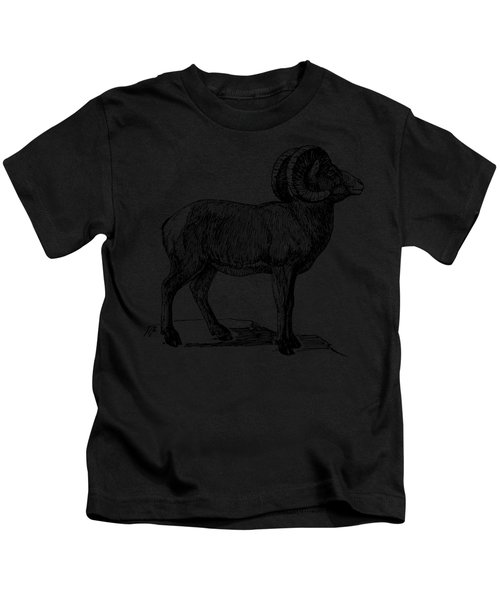Bighorn Sheep  Kids T-Shirt