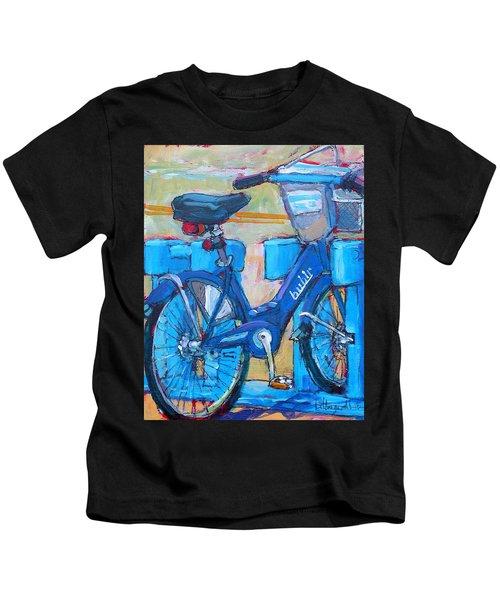 Bike Bubbler Kids T-Shirt
