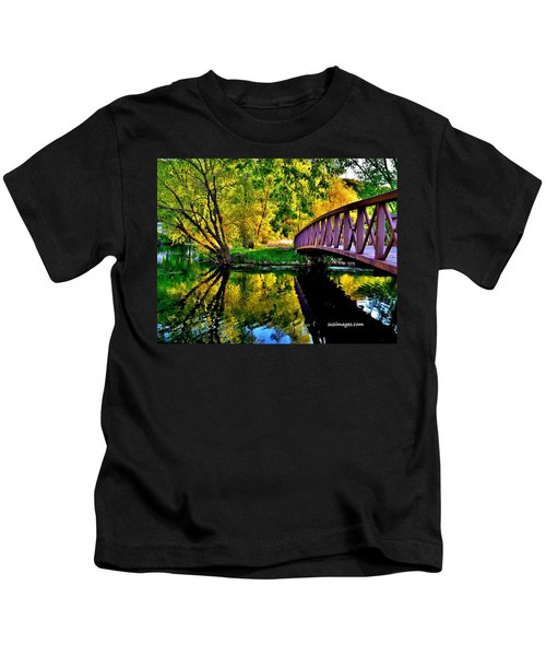 Bike Path Bridge Kids T-Shirt