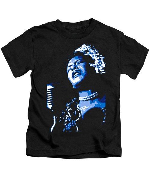 Billie Holiday Kids T-Shirt