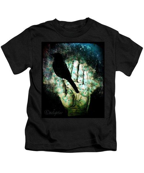Bird In Hand Kids T-Shirt