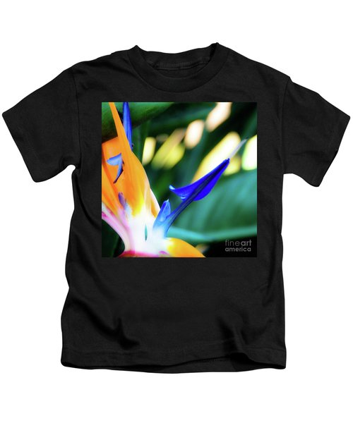 Bird Of Paradise Flower Kids T-Shirt