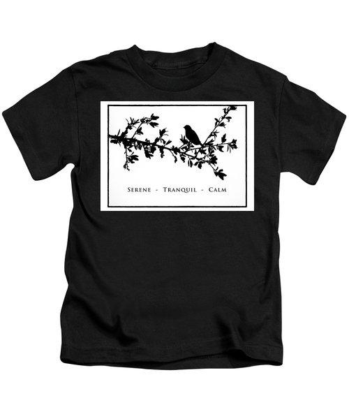Bird On A Branch Kids T-Shirt