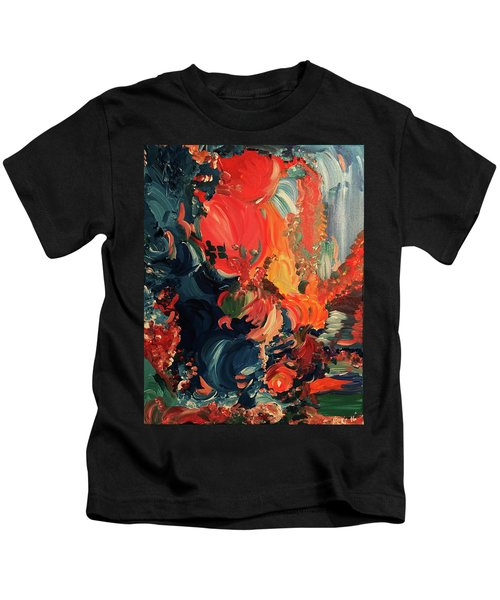 Birds And Creatures Of Paradise Kids T-Shirt