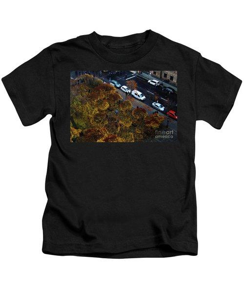 Bird's Eye Over Berlin Kids T-Shirt