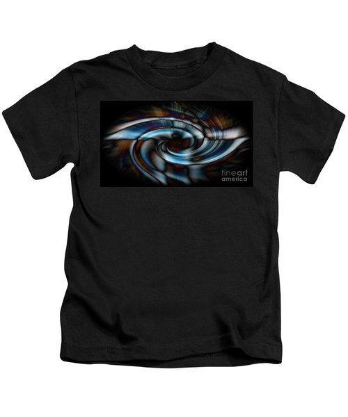 Black And Blue Kids T-Shirt
