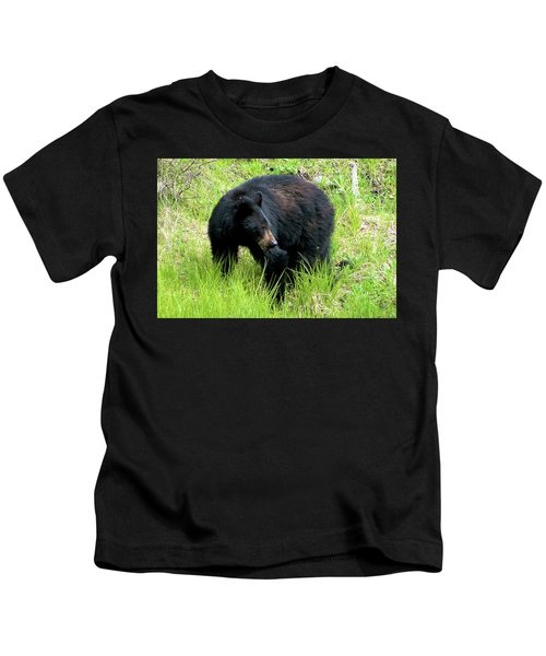 Black Bear Kids T-Shirt