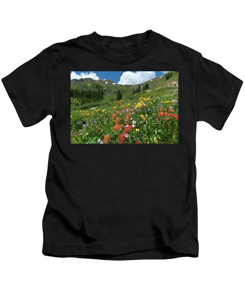 Black Bear Pass Landscape Kids T-Shirt