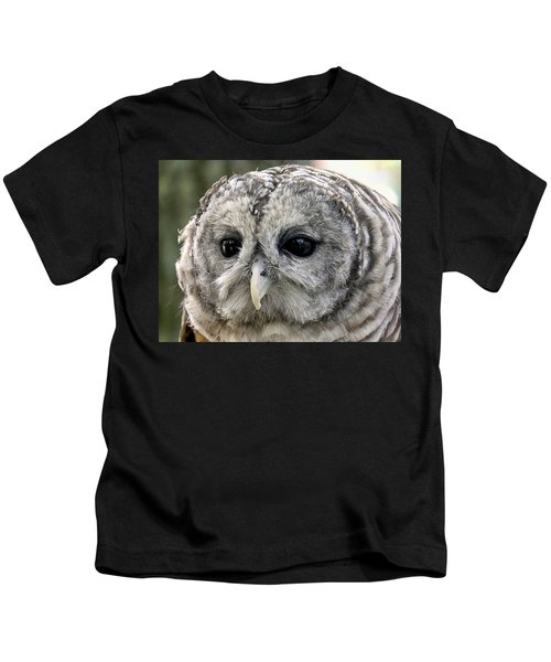Black Eye Owl Kids T-Shirt