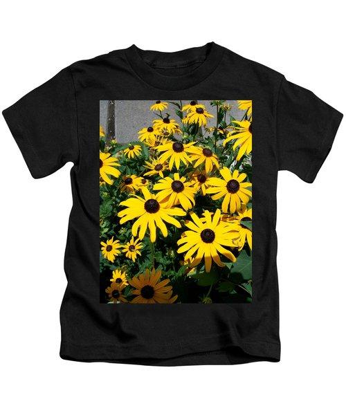 Black Eyed Susan  Kids T-Shirt