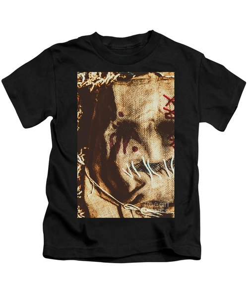 Black Eyes And Dried Out Hearts Kids T-Shirt