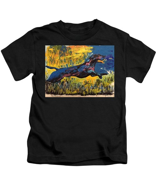 Black Lab Kids T-Shirt