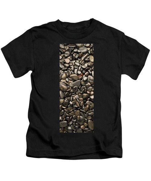 Black River Stones Portrait Kids T-Shirt
