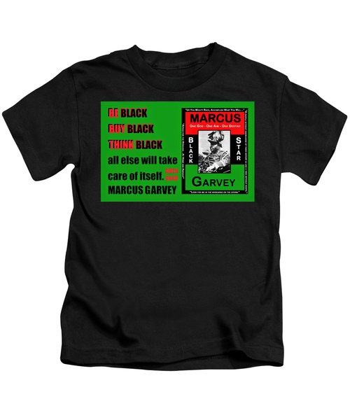 Black Star Garvey Kids T-Shirt