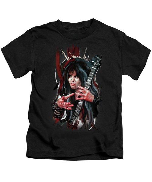 Blackie Lawless 2 Kids T-Shirt