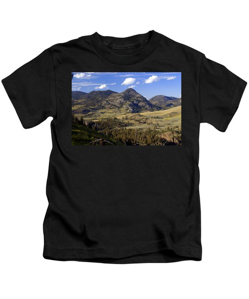 Blacktail Road Landscape 2 Kids T-Shirt