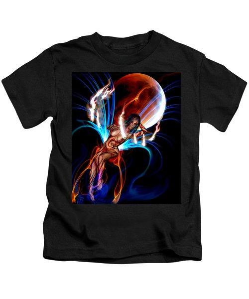 Blazing Eclipse Kids T-Shirt