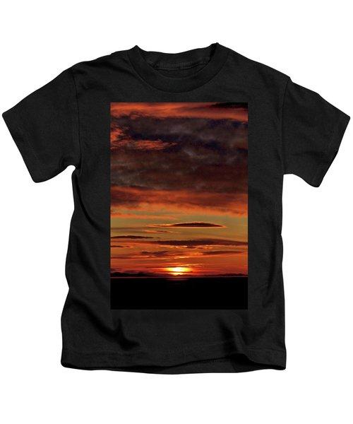 Blazing Sunset Kids T-Shirt
