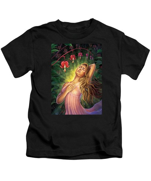 Bleeding Heart - Heal The Heart Kids T-Shirt