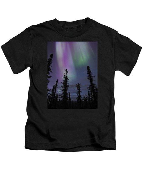 Blended Purples Kids T-Shirt