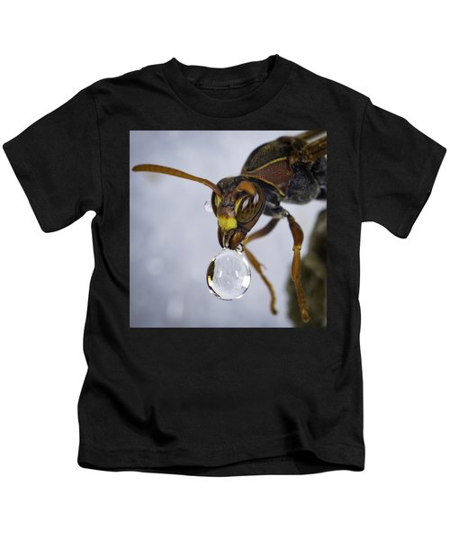 Blowing Bubbles Kids T-Shirt