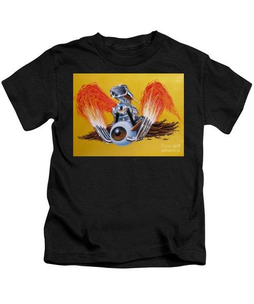 Blown Eyeball Kids T-Shirt