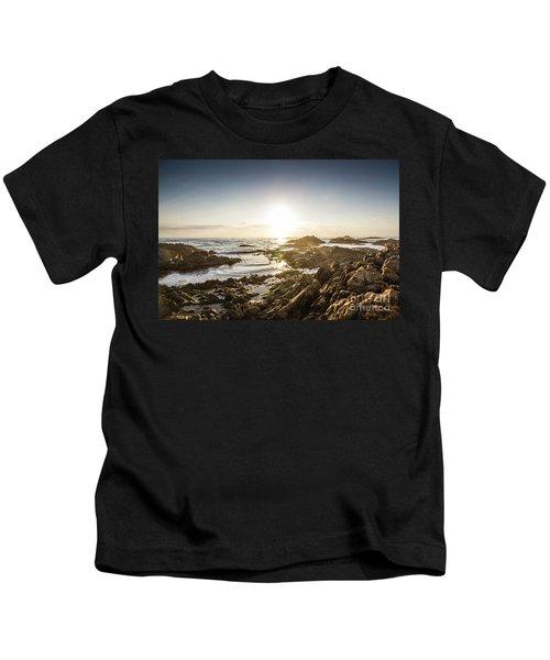 Blue Beach Beauty Kids T-Shirt