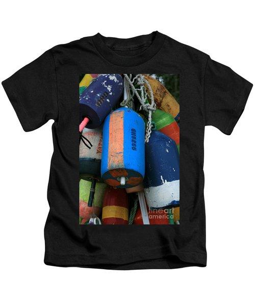 Blue Buoys Kids T-Shirt