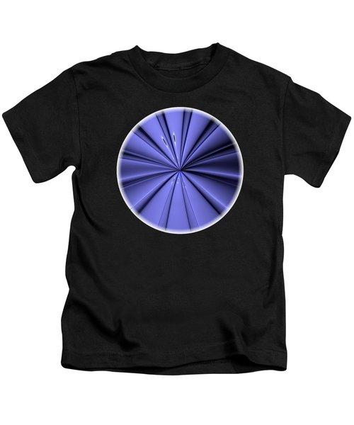 Blue Center Kids T-Shirt