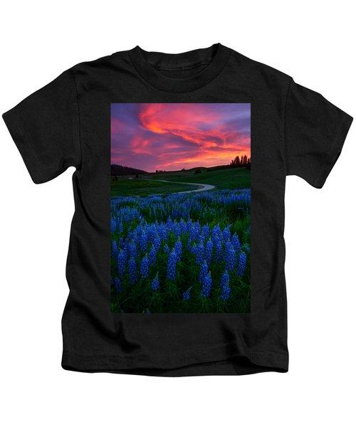 Blue Flame Kids T-Shirt
