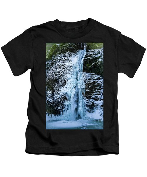 Blue Ice And Water Kids T-Shirt
