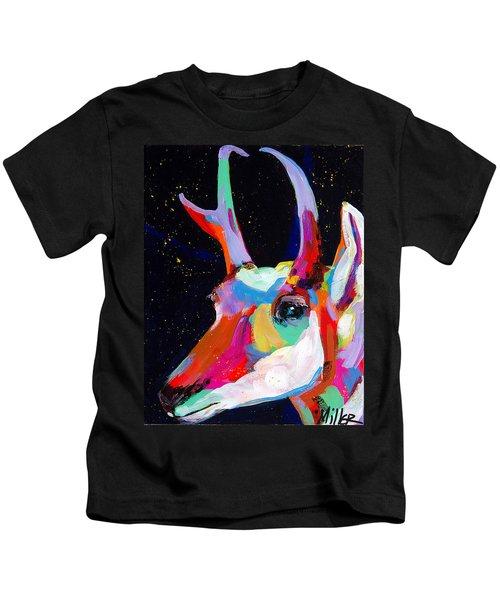 Blue Pronghorn Kids T-Shirt