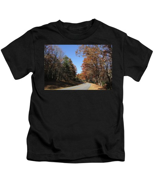 Blue Ridge Parkway Kids T-Shirt