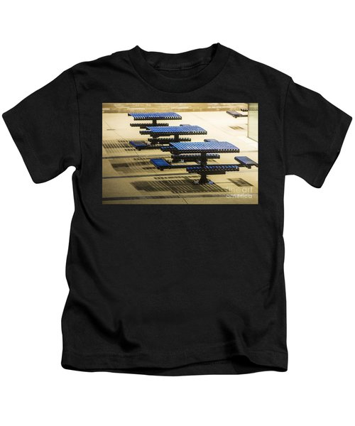 Blue Tables-6747a Kids T-Shirt