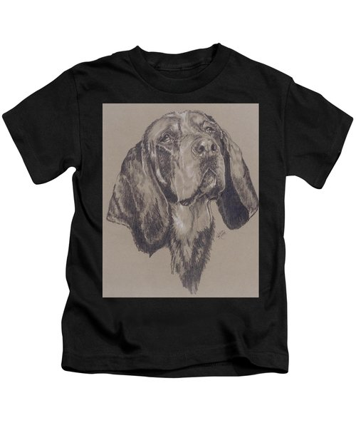 Bluetick Coonhound Kids T-Shirt