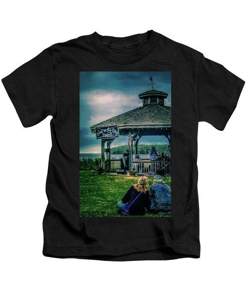 Blues On The Bay Kids T-Shirt