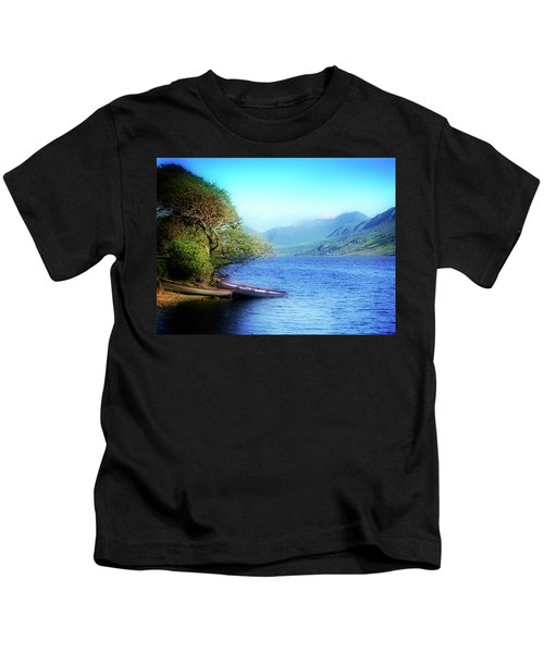 Boats At Rest Kids T-Shirt