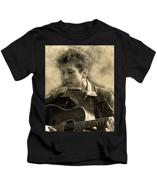 Bob Dylan Kids T-Shirt